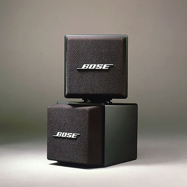 Acoustic Mass speakers by Bose, 1987