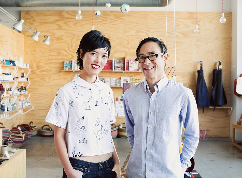 Angie Myung and Ted Vadakan founded the lifestyle design brand Poketo in 2003; they opened their flagship shop in Downtown Los Angeles in 2012.  Photo 7 of 7 in Ask the Expert: Gift-Buying Tips from Angie Myung of Poketo