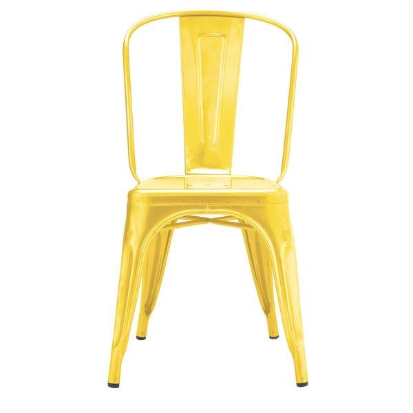 The Marais chair in lemon.
