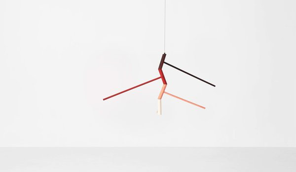 Eccentric mobile by Jamie Mclellan for Resident.