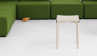 Studio stool by Jason Whiteley for Resident.
