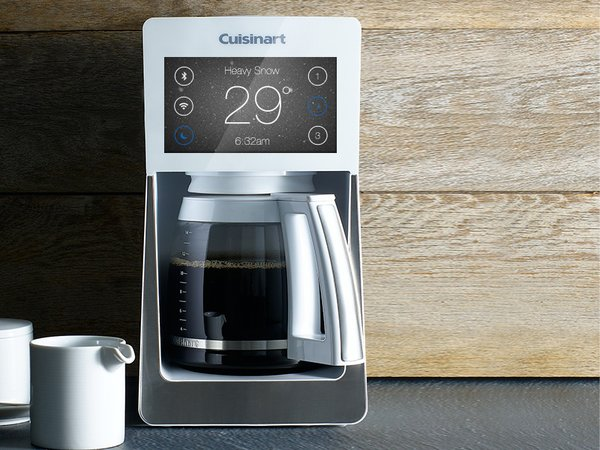 Coffee makers like this Cuisinart feature smart tech in sharp packaging—but they still clutter my counter.