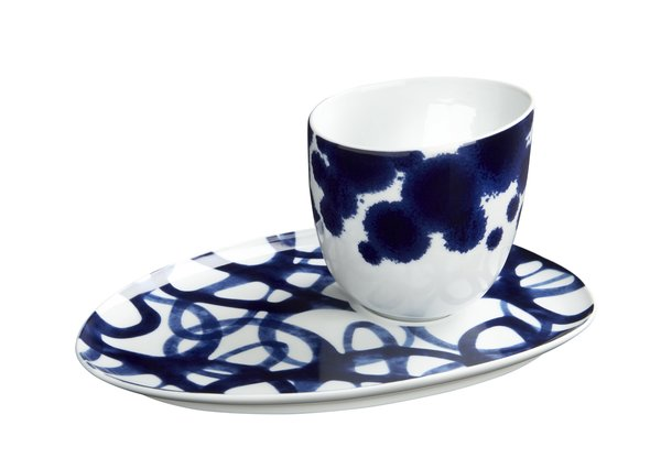 Como espresso cup ($11.95) and saucer ($9.95) by Paola Navone Only at Crate & Barrel.