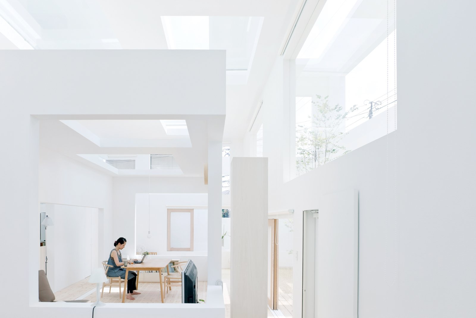 In 2008, Fujimoto designed House N, one of his first commissions, for his in-laws.  Photo 5 of 6 in Architect We Love: Sou Fujimoto