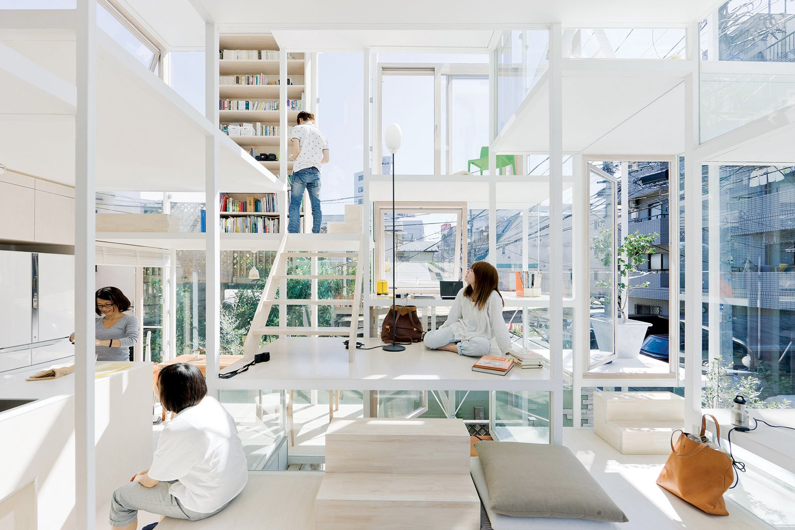 """""""I thought it would be nice to make a city like architecture or architecture like a city."""" —Sou Fujimoto  Photo 6 of 6 in Architect We Love: Sou Fujimoto"""