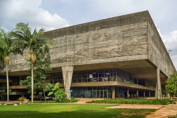 Faculty of Architecture and Urban Planning Center, João Batista Vilanova Artigas and Carlos Cascaldi, 1969, Sao Paulo, Brazil.  In the early 1960s the School of Architecture and Urbanism at the University of São Paulo turned to one of Brazil's most important modernist architects, João Batista Vilanova Artigas, to design a new faculty building in collaboration with Carlos Cascaldi. Taking their cues from the Brutalism of the late Le Corbusier, Artigas and Cascaldi created a monumental structure that emphasizes the elegance of modern materials such as concrete and glass with minimal decoration. One of the building's most prominent features is its dramatic roof, a large grid of skylights set into reinforced concrete that fills the courtyard below with natural light. While past repairs have been undertaken on a case by case basis, now faculty are embracing the development of a conservation management plan with Getty support to produce a holistic approach to the maintenance of the building's key features. This methodology will be integrated into the teaching curriculum as a tool to educate the next generation of Brazilian architects on the value of strategic planning for the conservation of historic sites. Grant support: $200,000
