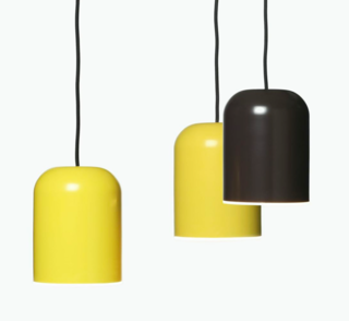 """Linja (Finnish for """"line"""") is another pendant by the prolific Matti Syrjälä. This one is constructed of spun aluminum and offers a diffused LED illumination."""
