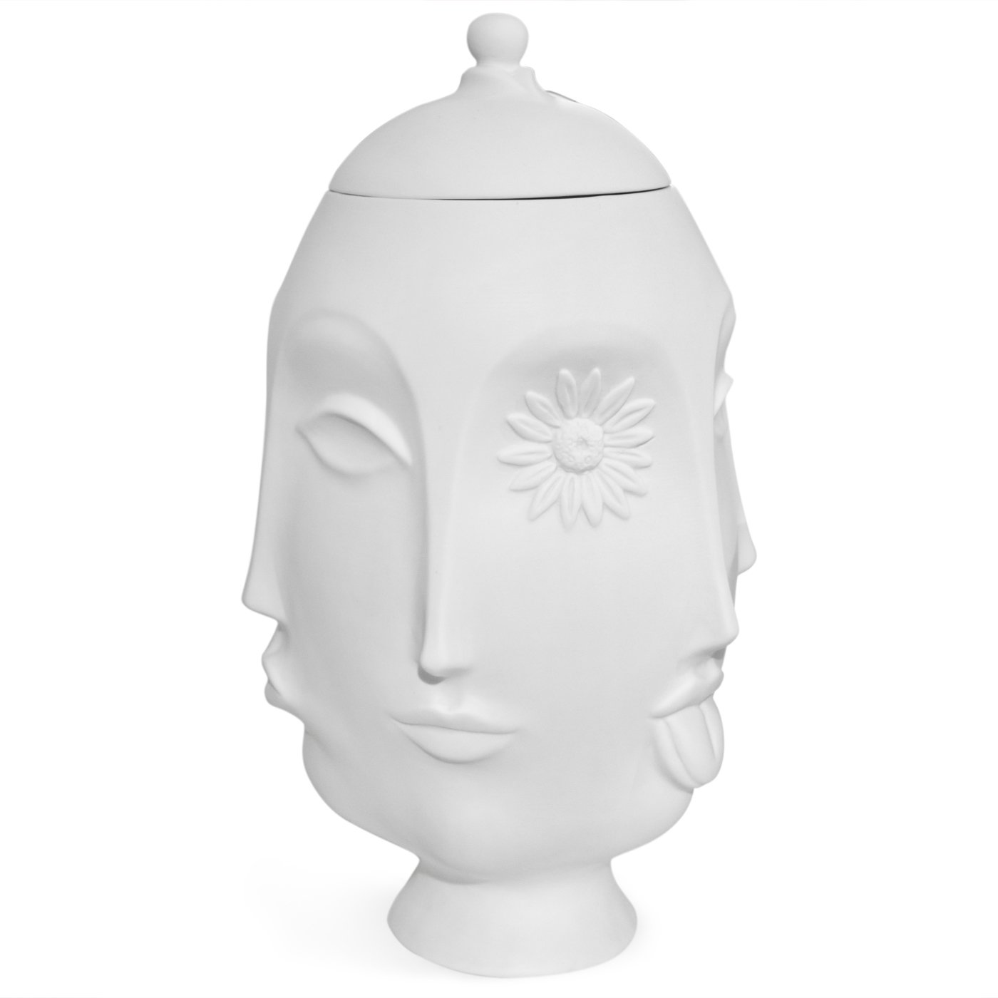 Adler's signature unglazed matte porcelain vases are prototyped in his Soho studio. The Frida Vase depicts the muse with various expressions.  Photo 5 of 9 in Creativity and Constraint: A City Modern Preview