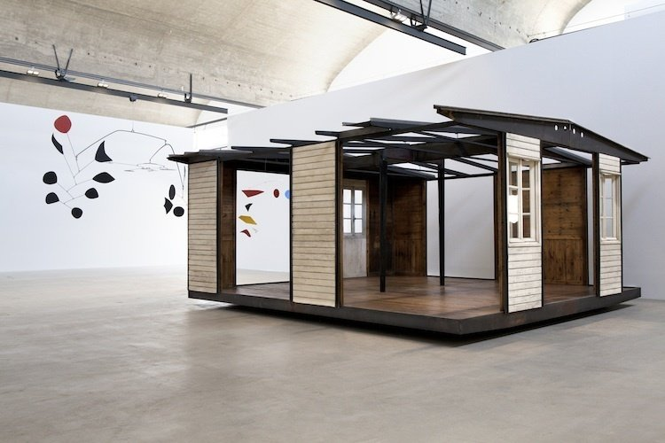 6X6 Demountable House (1944)   Prouvé created these temporary bungalows as postwar housing for Lorraine, France, via a commission from the Ministry of Reconstruction and Town Planning. To reinforce the ease with which these structures were assembled and dissassembled on site, one model was built and then taken apart every day during Art Basel Miami 2013.  Photo 3 of 6 in Progressive Prefabs of Jean Prouvé