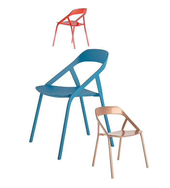 Young's <5_MY chair for Coalesse, $1,700, is a cutting-edge carbon-fiber design that weighs in at less than five pounds. The chair was inspired by his work with bicycles, is stackable for easy storage, and can be customized to match any color using an app.  Photo 5 of 7 in Editor's Picks: 7 Irresistible, Modern Furnishings from Michael Young on Why Now Is a Good Time to Be in Design