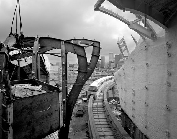 Experience Music Project by Gehry Partners, Seattle 1999, shot for Vulcan, Inc. © Lara Swimmer