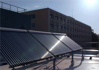 The UC system and UCLA have a goal of carbon neutrality by 2025, with solar water heating an important part of that goal.