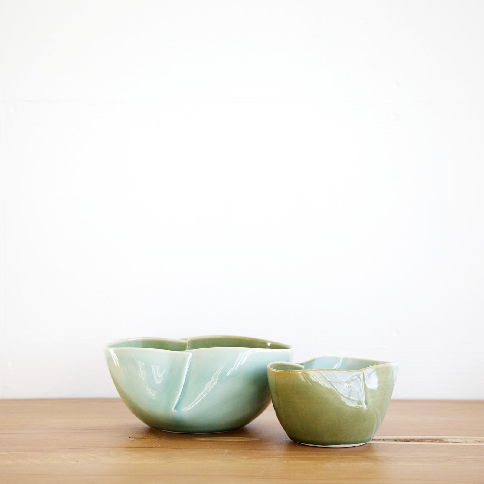 Dart bowls by Studio Joo  WorkOf's collection spans scales, including small objects like handmade bowls and light fixtures by Brooklyn artist Elaine Tian of Studio Joo. Photo by Emily Johnston.  Photo 6 of 6 in WorkOf: Building a Community of Brooklyn Makers