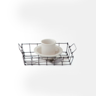 Desk Basket  The Desk Basket comes in small and medium and is the perfect little organizer for your workspace.