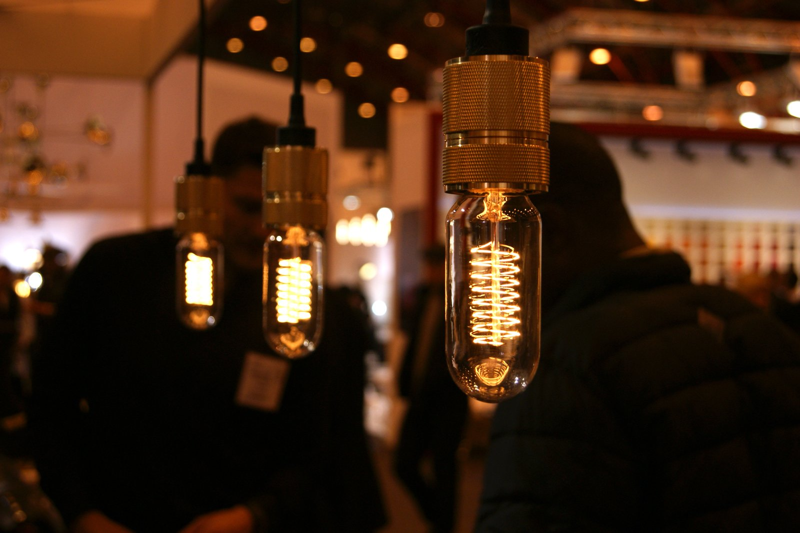 British brand Buster + Punch showcased a line of beautiful bulbs that replicate the old Edison filaments. Designed to be exposed, the bulbs are available in spiral and teardrop shapes and look particularly good when teamed with Vitamin's lamps (previous slide).  Key Trends from 2013 London Design Festival by Ali Morris
