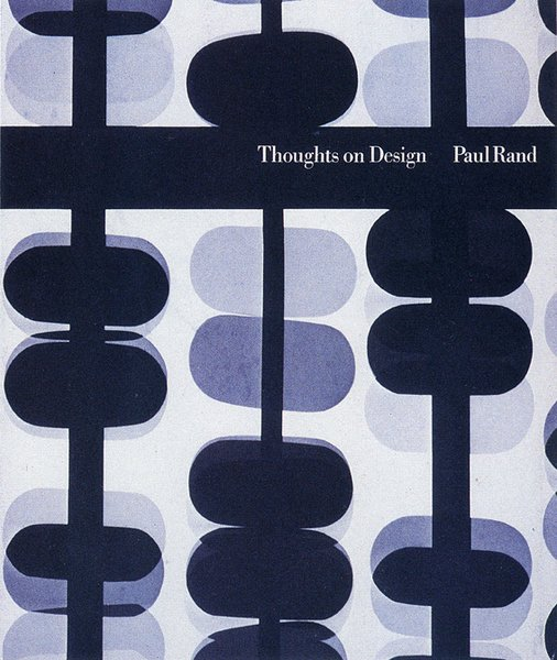 Thoughts on Design by Paul Rand with a new introduction by Michael Beirut, $20 from chroniclebooks.com  Back in print for the first time since the 1970s thanks to publisher Chronicle Books, the paperback features art director Paul Rand's original 1947 text, which he wrote when he was just 33 years old. For aspiring designers in marketing or advertising, this is a bookshelf essential.