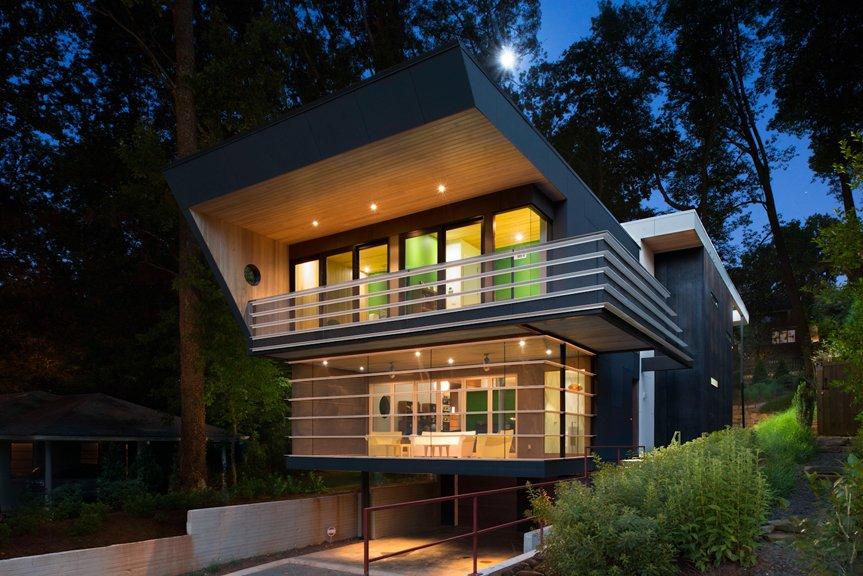 Articles about angular futuristic house georgia on Dwell.com