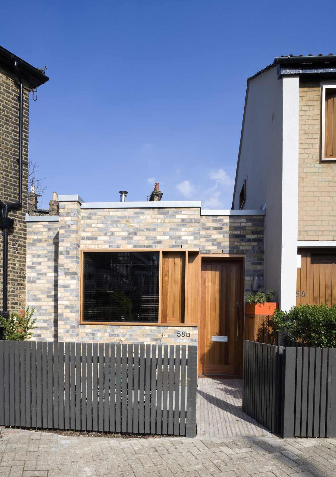 """""""We have described the house as an urban cabin and this captures the essential character we were seeking to achieve,"""" says architect Charles Thomson. """"Because the plan is so tight, it was critical that every part was considered carefully. But we also wanted spaces that were simple and flexible to accommodate the typical range of family activities.""""  Islington Residence by Kelly Dawson"""