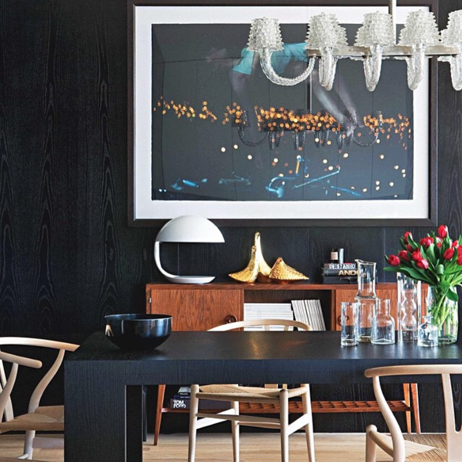 @MyDomaine shared this modern living space.  Instagram Account We Love: Danish Modern Furniture Done Right by Dwell