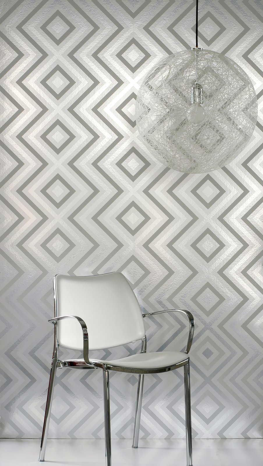 """Above all, determine what you want your wallpaper to do. """"Wallpaper can be used to accomplish a variety of goals. It can draw the eye to make a room feel larger, brighter or to focus on one specific area,"""" Sherman says.  Photo 11 of 11 in 10 Hip Wallpaper Designs from How to Shop for Wallpaper"""