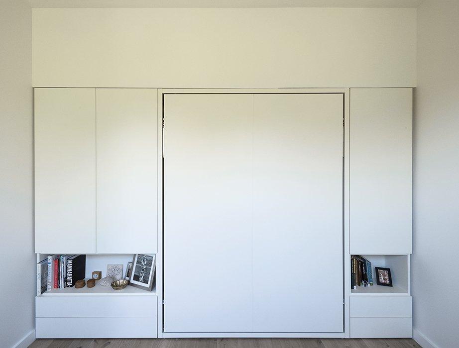 family small apartment renovation brooklyn bedroom