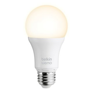 WeMo LED Lighting starter set by Belkin, $130  The energy-efficient, fully dimmable LED bulb offers the equivalent brightness of a 60-watt incandescent and will last over 20 years. With Belkin's app, you can control the bulbs from anywhere and even program them to turn on and off when you're on vacation.