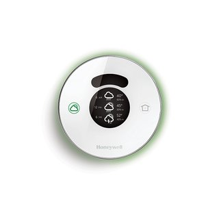 Lyric by Honeywell, $279  For its new thermostat, Honeywell sticks with the round shape Henry Dreyfuss introduced in 1953. It syncs with your phone to determine your location, adjusting settings to real-time indoor and outdoor weather conditions and temperature. Apple HomeKit–compatible.  Read more about Lyric here.