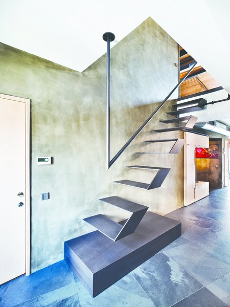 Gravity-Defying Floating Staircases