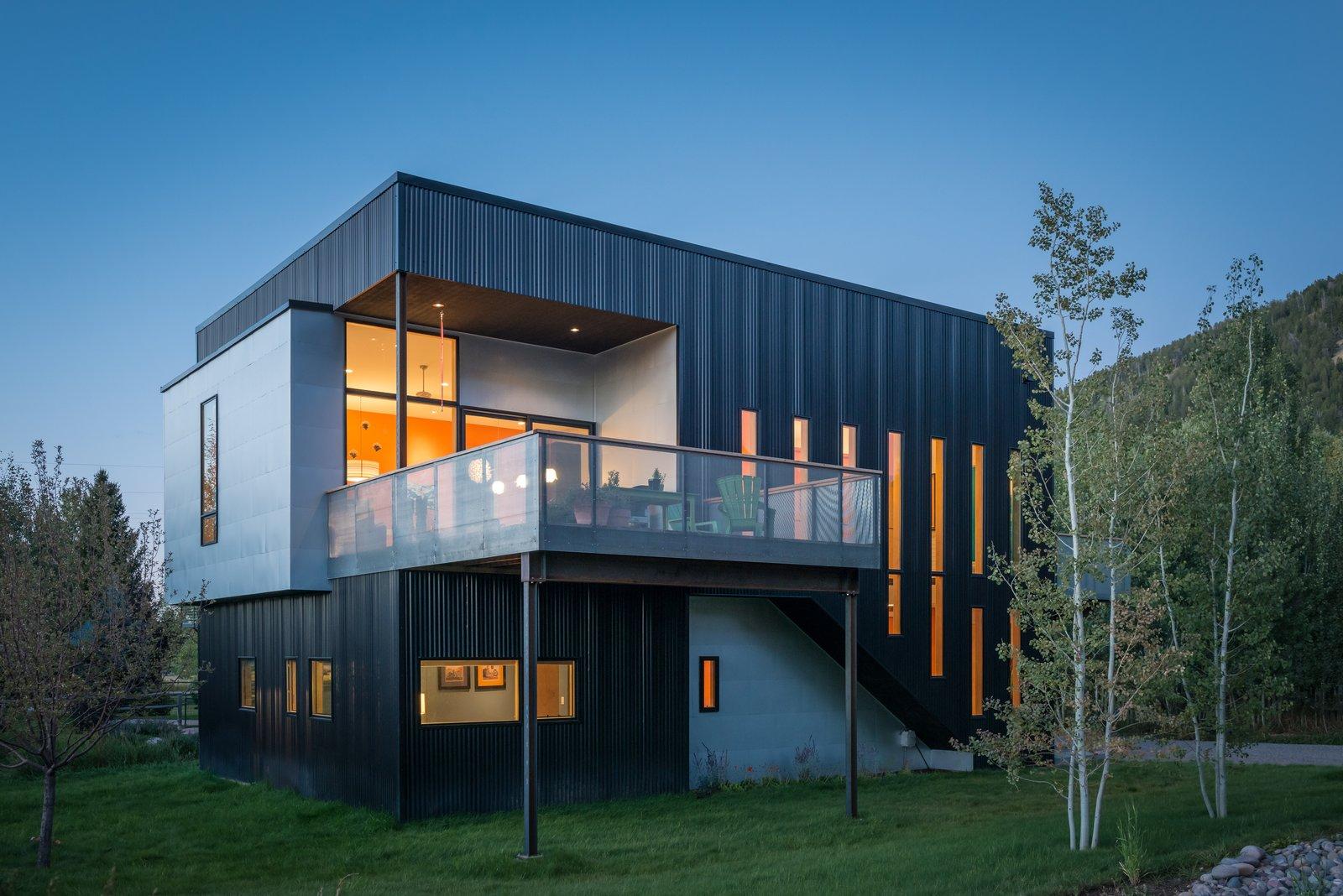 Mishev Residence Carney Logan Burke Architects exterior