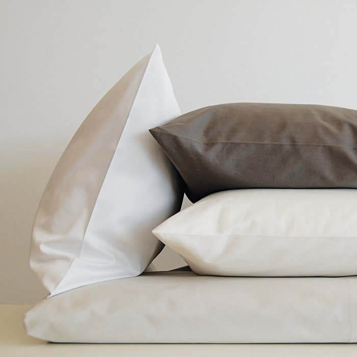 What is your everyday bedding?   Area Home. Right now, I have the Ines grey duvet cover with Pearl Shadow sheets and pillowcases.  Pearl Shadow sheets, $190–$235, and Ines grey duvet cover, $420, by Area Home.  Photo 2 of 7 in Ask the Expert: Gift-Buying Tips from David Alhadeff of The Future Perfect