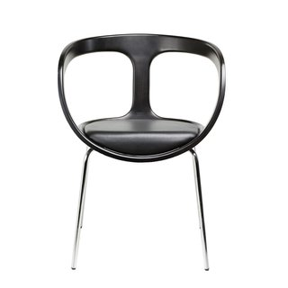 Gärsnäs Hug Armchair in black by Anna Von Schewen.
