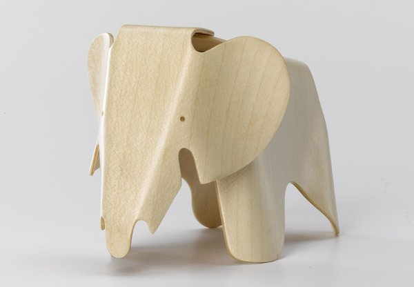 Eames Elephant, designed in 1945 by Charles and Ray Eames. Loaned by Rolf Fehlbaum/Vitra International A.G.  Photo 1 of 10 in An Exhibit Tells the Story of Legendary Design Brand Vitra