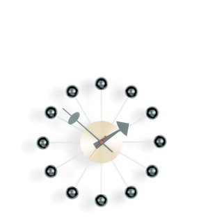 Ball clock, designed by George Nelson. Loaned by Vitra Inc.  Available at the Dwell Store.