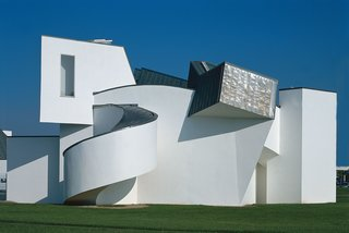 The Vitra Design Museum in Weil am Rhein, Germany, designed by Frank Gehry, 1989.