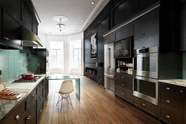 Engineered for versatility, Bosch appliances fit into the contemporary kitchen with ease. From wall ovens and warming drawers, to speed microwave and steam convection ovens, their streamlined designs create stunning visual alignment between cabinetry and appliance.  Kitchen