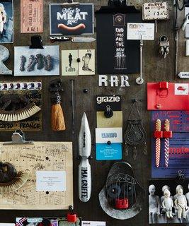Tour a 17th-Century Paris Loft Overflowing with Vintage Items