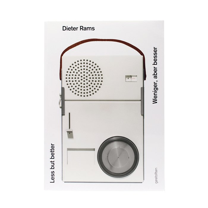 What is the best design book to give as a gift?  Less and More: The Design Ethos of Dieter Rams. A great source of inspiration that challenges the reader to seek timelessness and simplicity when considering good design.  Less and More: The Design Ethos of Dieter Rams, by Klaus Klemp and Keiko Ueki-Polet (Gestalten, 2011), $78.  Photo 2 of 6 in Ask the Expert: Gift-Buying Tips from Byron Peart of Want Les Essentiels de la Vie