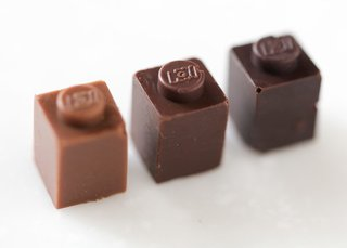 LEGO Blocks Made from Chocolate