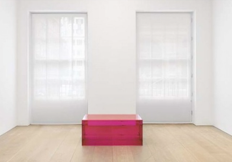 Donald Judd's Untitled, March 8 1965.