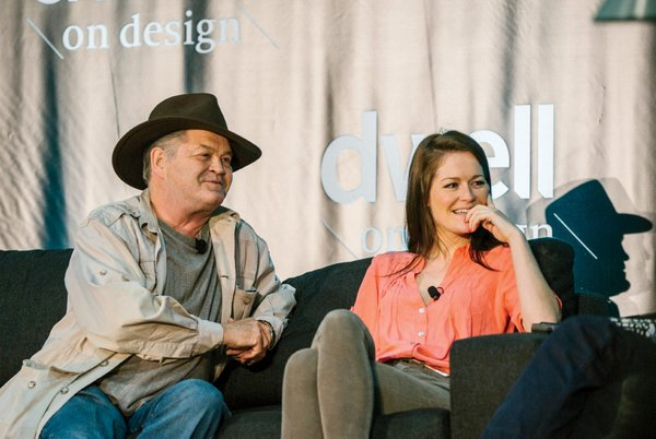The Monkees drummer Micky Dolenz and his daughter Georgia discussed their furniture designs.
