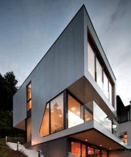 Photo of the Week: Angular Austrian Lake House