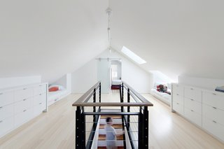 A Musty Attic is Transformed Into a Luminous Loft