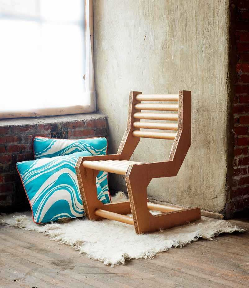 Articles about how make diy cardboard chair on Dwell.com