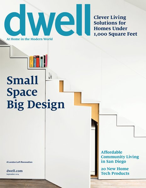 Dwell's September 2014 issue.
