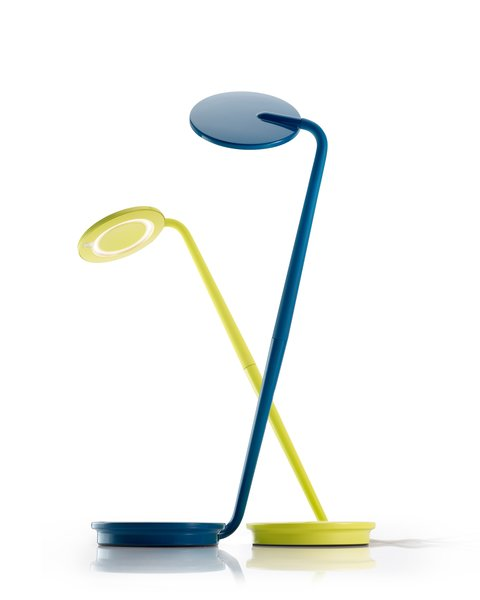 With a slim silhouette, the Pixo Desk Lamp—a Dwell Store best seller—is an unobtrusive light source that will complement a home office or dorm room.