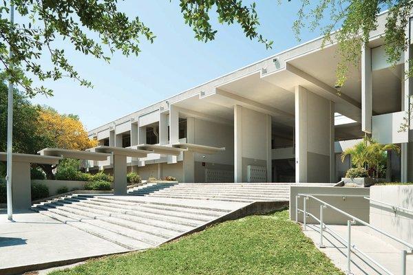 Sarasota High School  Designed by Paul Rudolph, 1958-1959