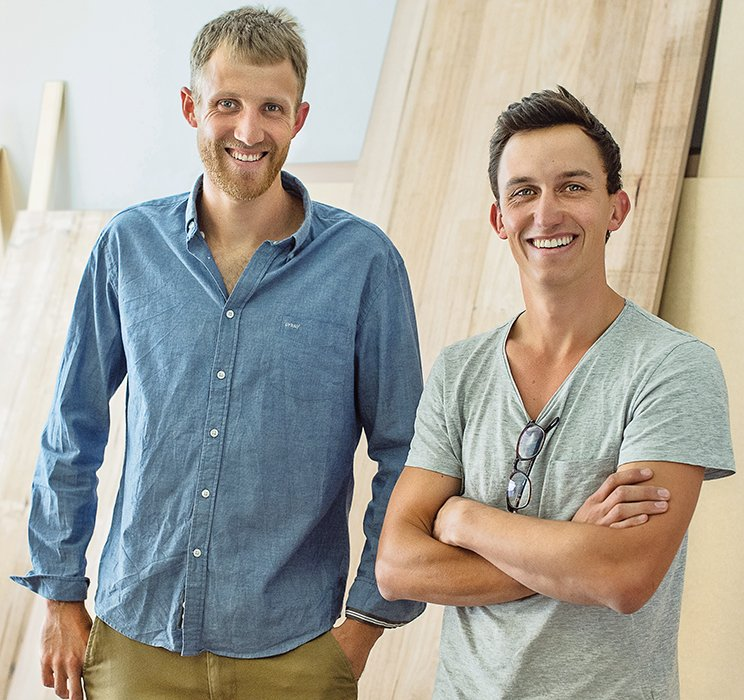 James Lennard and Luke Pedersen.  Photo 16 of 16 in Two Cool Surfers Design Some Serious Furniture