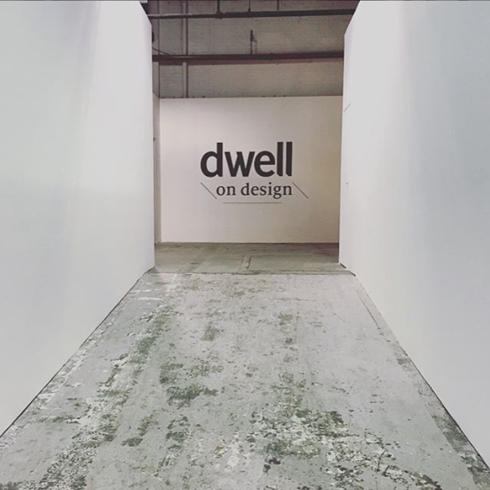 @chadlock posted a glimpse of the minimal entryway.  Dwell on Design New York: Day One Highlights by Dwell
