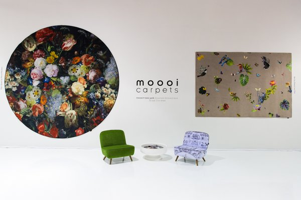 Dutch design firm Moooi, whose co-founder, Marcel Wanders, addressed Dwell on Design Los Angeles earlier this year, debuted a new line of vivid carpets.