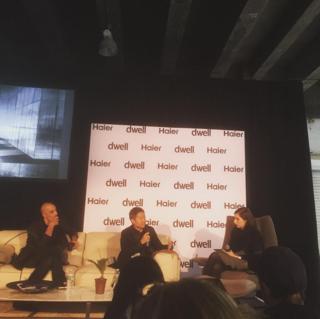 Roy Kim (@roykimdesign) of Douglas Elliman (@douglaselliman) and Dror Benshetrit (@drorbenshetrit) discussed the future of high-rise living in The New Skyscraper panel.